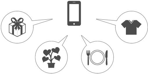 スマートフォンサイト版ホームページ制作イメージ画像